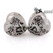 Heart Shape Metal Beads In Bulk Sale With Cheap Price Wholesale New Beads Nickel & Lead Free Hot