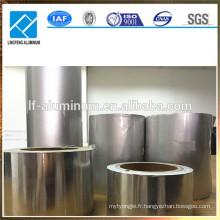 Feuillet en aluminium de qualité alimentaire pour emballages de bonbons