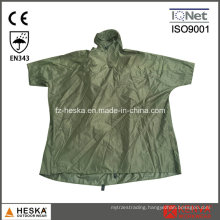 Cheap Men Waterproof PVC Rain Poncho