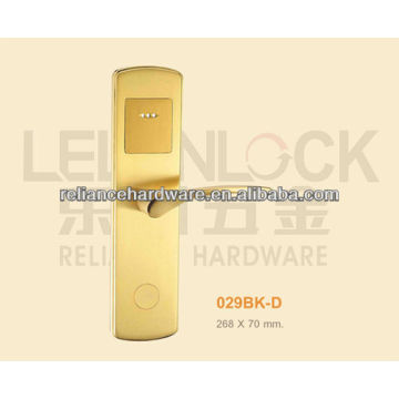 RF card type electric hotel door lock