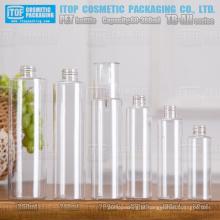 TB-AH série 60ml 100ml 120ml 200ml 240ml 300ml cor personalizável linda de boa qualidade redondo magro garrafas pet por atacado