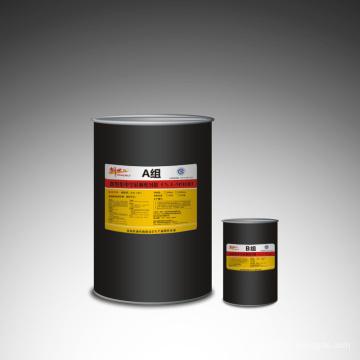 Scellant en silicone à deux composants pour le verre isolant