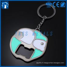 fabricant de métal porte-clés porte-bouteilles personnalisé