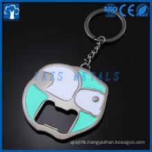 metal manufacturer bottle opener keychain custom