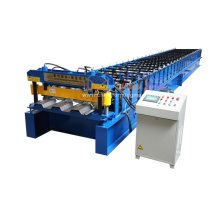 Customized automatic floor deck roll forming machine for high-rise building