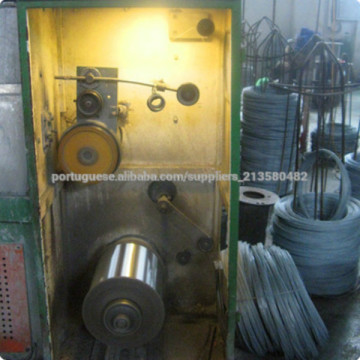 Galvanized round wire for cleaning ball
