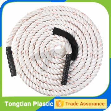 1.5 '' pulgadas PP o cuerda de batalla de nylon crossfit para entrenamiento