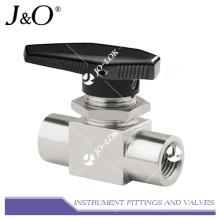 Válvula de bola de alta presión de acero inoxidable