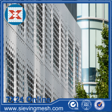 Facade Mesh Logam Perforated