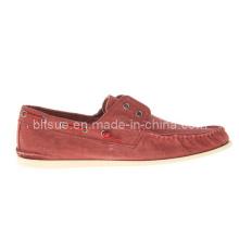 Rote neue Ankunfts-bequeme beiläufige Boots-Schuhe