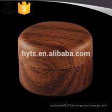 30ml vente chaude grain de bois cosmétique pot de crème