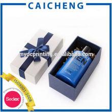 caja de embalaje de perfume de papel cartón de moda