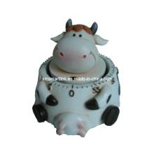 Temporizador de cozinha vaca de 60min, temporizador de contagem regressiva de animais