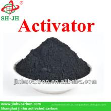 Carvão ativado como desodorante para filtro de ar e água