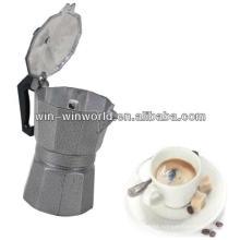 Máquina de fabricación de café de mano de cappuccino expreso industrial de aluminio