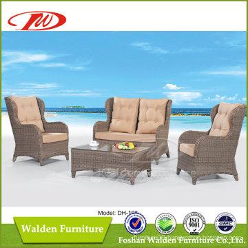 Luxury Round Rattan Furniture Sofa (DH-193)