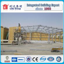 Líderes globales en el campo de los sistemas de construcción de acero prediseñados (PEB)