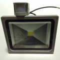 Infrared sensor high lumen led flood light 50w