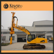 50 kn.m crawler small rotary drilling rig