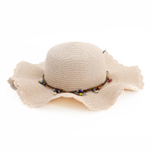 Slap up wavy custom design wholesale hat beanie