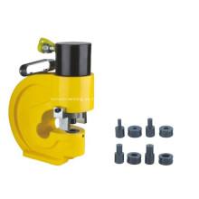 Punzonadora hidráulica del agujero de la placa de acero
