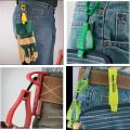 Красочный новый материал POM пластиковые рабочие перчатки клипы держатель