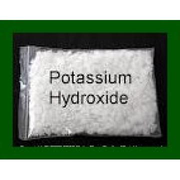 Hidróxido de potássio cáustico Floco 90% 95% / Líquido 48%
