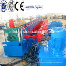 New style hot sale Hydraulic station PLC control highway guardrail device speedway cold roll forming machine