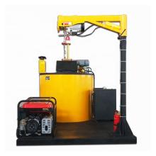 Оборудование для уплотнения трещин на асфальтовой дороге
