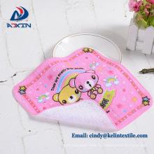 Promoción de regalo 100% algodón impreso japonés pequeña toalla de mano