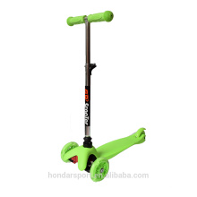 2017 high quality child kick scooters with led wheels for sale