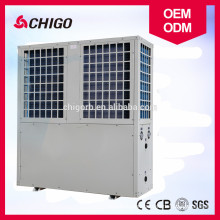 Energy-saving solar low temperature heat pump for very cold area