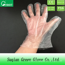Clear Food Processing Disposable HDPE Glove