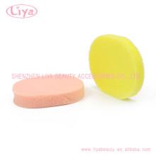 Látex libre cuerpo cosmético suave esponja de limpieza