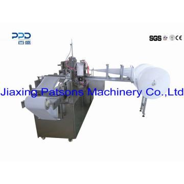 Machine de conditionnement humide simple de lingettes de sachet