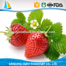 new crop sweet fresh frozen big size strawberry
