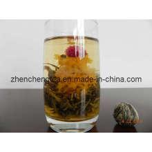 Thé fleurissant (Si Ji Fa Cai)