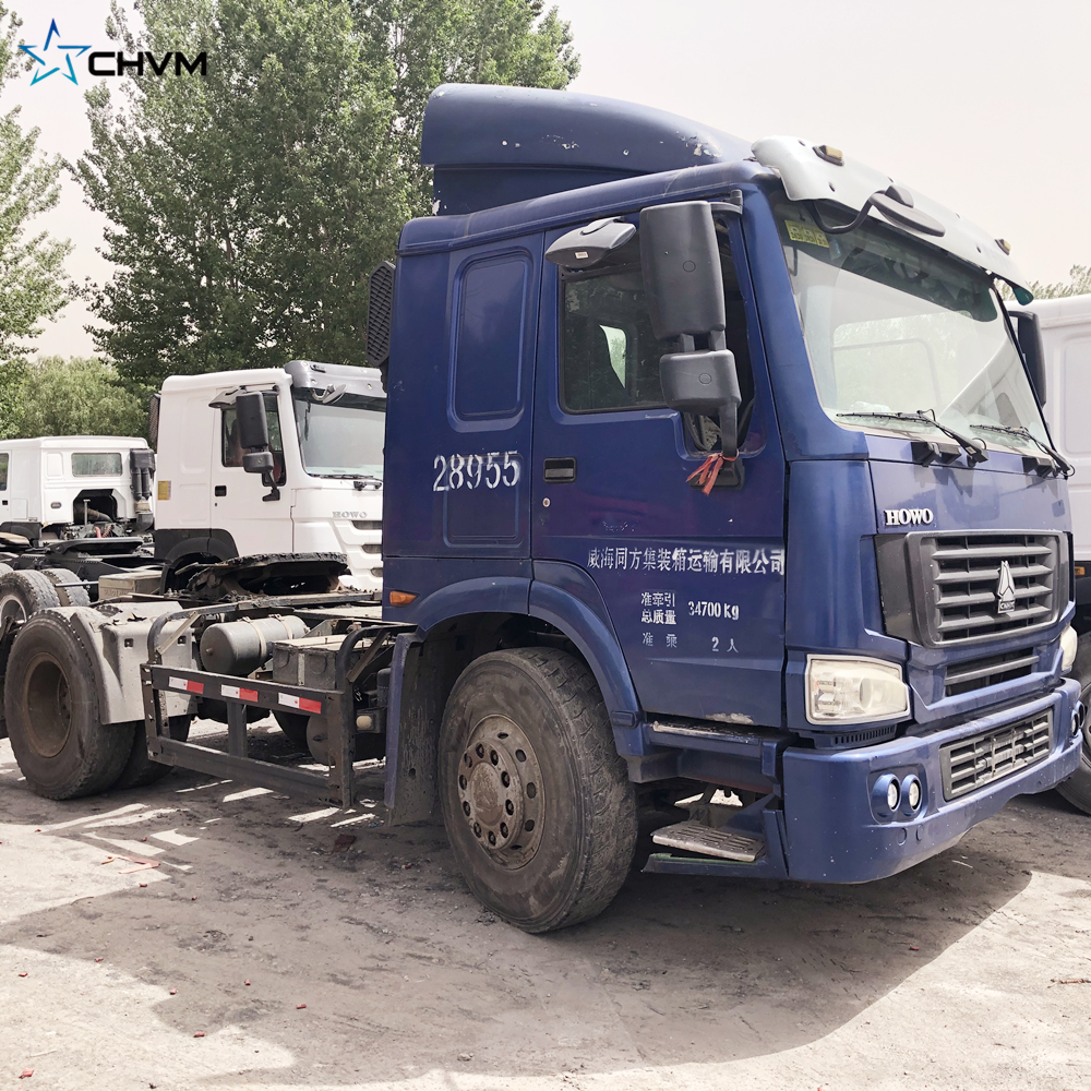 Used Sinotruk HOWO 4x2 Tractor Truck