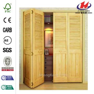 China Wood Door Handle Interior Bifold Closet Door Manufacturers