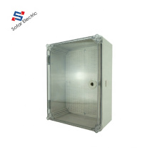400*300*160mm Transparent Hinged Door Plastic Cable Junction Box