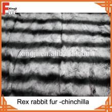 Echter Tierfell Rex Chinchilla