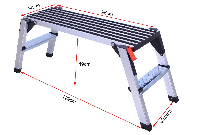 Non slip work platform
