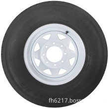 "Radial Trailer Tire (With 16"" White Wheel)"