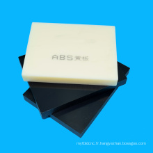 Panneau d'ABS extrudé par prix usine pour la gravure au laser
