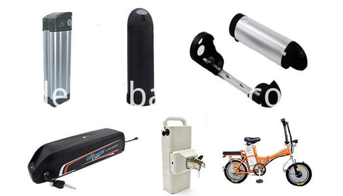 36V Power Lithium Battery Pack Rechargeable Lithium Ion Water Bottle Battery for Electric Bike