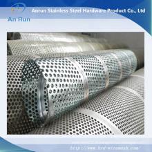 Filtre à métaux perforés en acier inoxydable