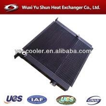 China aluminum plate fin cooler / fin heat exchanger manufacturer