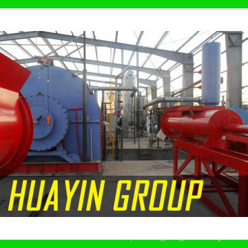 HUAYIN BRAND machine of producing oil from waste tyres