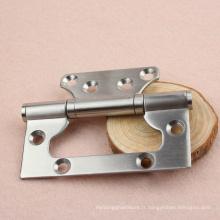 Charnière de porte en acier inoxydable à 6 trous, RDH-16