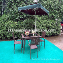 Outdoor Dining Table And Chair Rattan Garden Furniture Sets